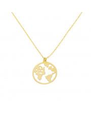 Złota celebrytka globus - pr. 333