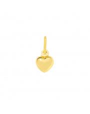 Złota zawieszka serce pr. 585