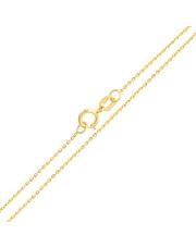 Złoty łańcuszek Ankier 45 cm - pr. 585