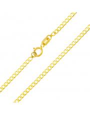 Złota bransoletka pancerka pr. 585