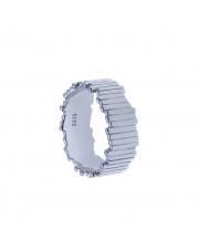 Srebrny pierścionek zygzak pr. 925