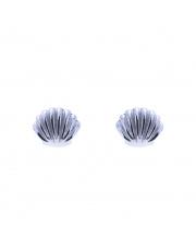 Srebrne kolczyki sztyfty muszelki pr. 925