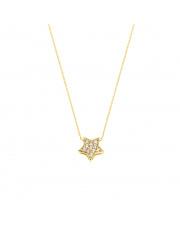 Łańcuszek złoty celebrytka z gwiazdką 40 cm pr. 585