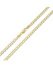 Złoty łańcuszek Pancerka 55 cm - pr. 333