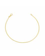 Złota bransoletka Marinero pr. 585