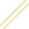 Złoty łańcuszek - Monaliza 50 cm pr. 585
