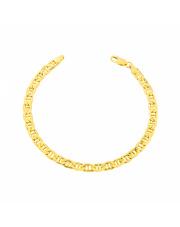 Złota bransoletka Marinero 21 cm pr. 585
