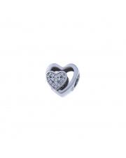 Charms - dwa serca - pr.925