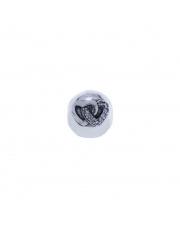 Charms - Kulka z sercam -  pr.925