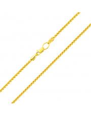 Złoty łańcuszek Rollo 55 cm - pr. 585