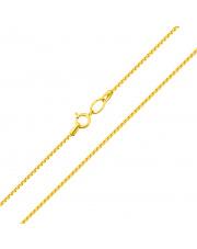 Złoty łańcuszek Rollo 45 cm - pr. 585