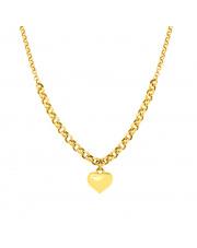 Złota celebrytka z sercem - pr. 585