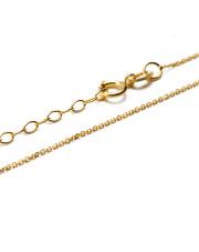 Złoty łańcuszek ankier 40 - 45 cm - pr. 333
