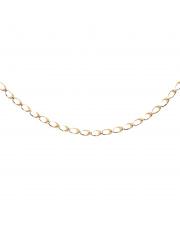 Złoty łańcuszek owale - pr. 585