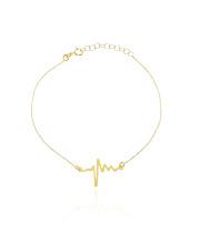 Złota bransoletka celabrytka puls - pr. 585