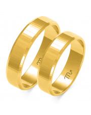Złote obrączki ślubne - pr.585