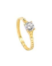 -30% Złoty pierścionek zaręczynowy - pr.585