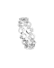 Srebrny pierścionek z cyrkoniami - pr. 925
