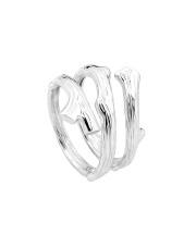 Srebrny pierścionek gałąź - pr. 925