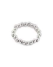 Srebrny pierścionek na gumce - pr. 925