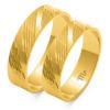 Złote obrączki zdobione - pr 585