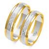 Złote obrączki diamentowane - pr. 585